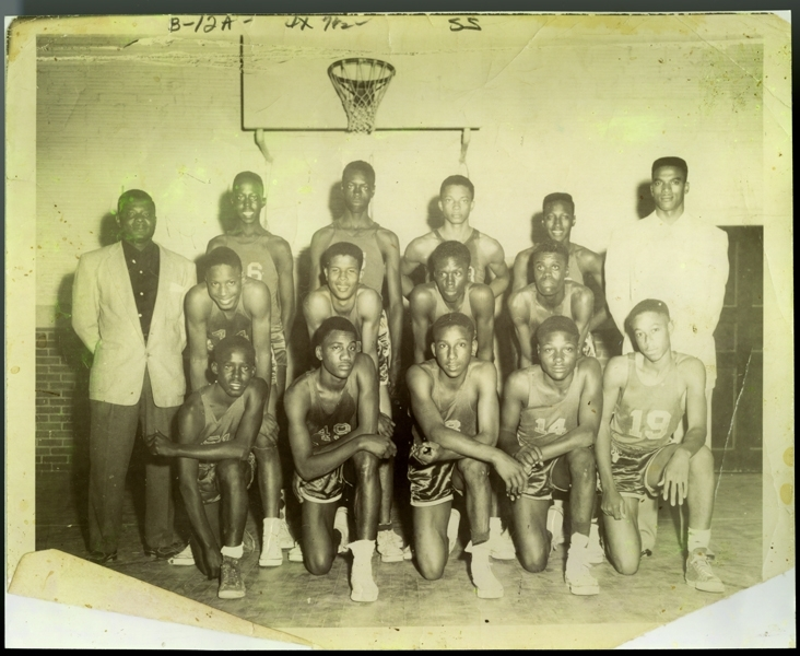 The John Hightower Collection Booker T. Washington Basketball Team 1954 ; 1955