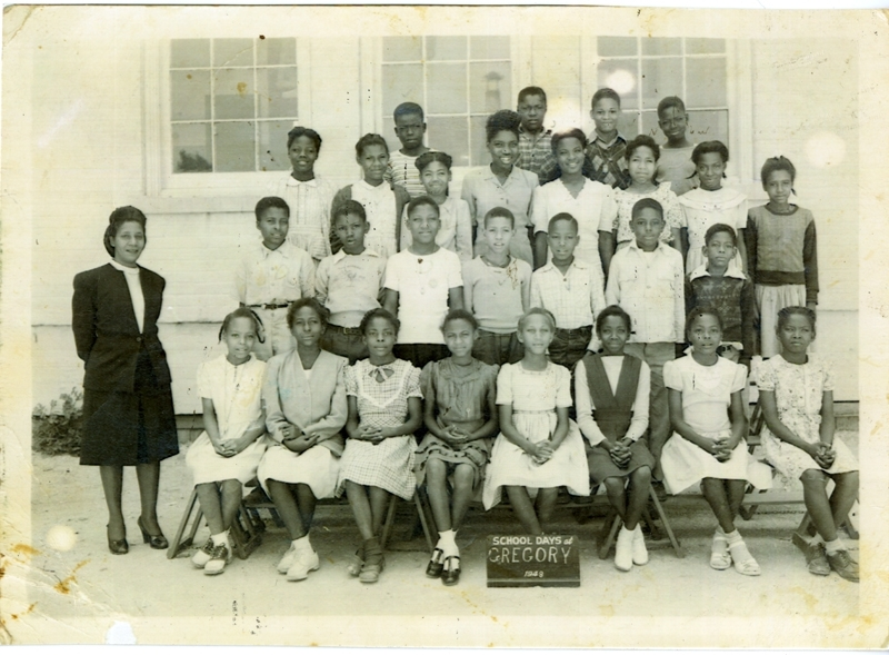 The John Hightower Collection Gregory School Class Photo 1948