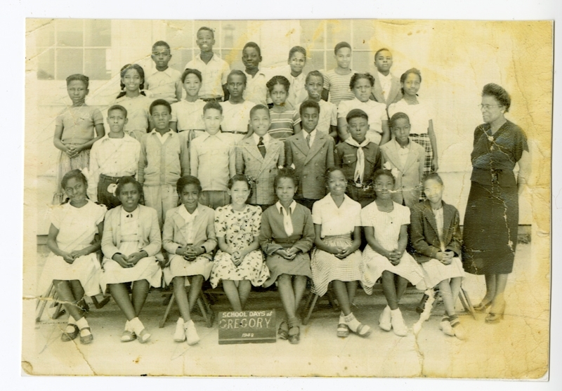 The John Hightower Collection  Gregory School Class Photo Date Original 1948