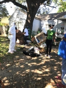 Department of Neighborhoods employees and volunteers participate in the Millennial Much Out with Ashley Turner.