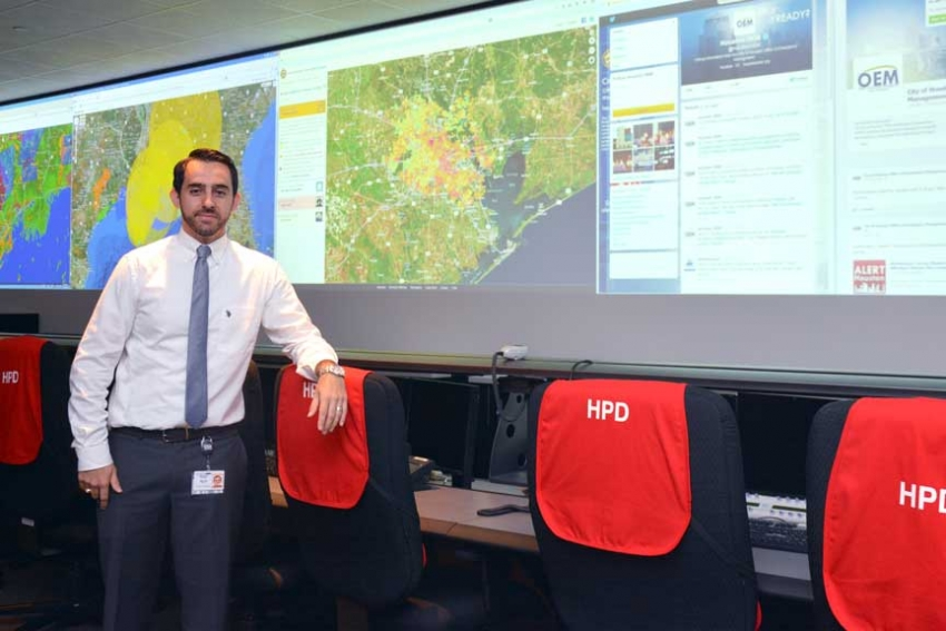 From HEC to high water, Walter keeps the information flowing