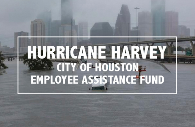 Support fellow employees affected by the Hurricane Harvey