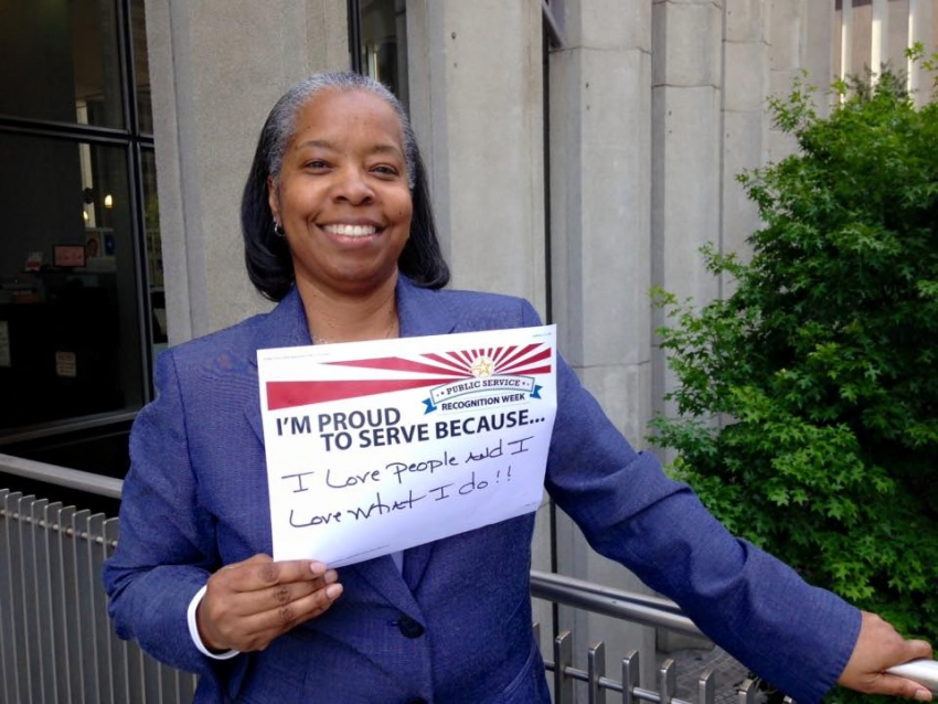 Human Resources Director Jane Cheeks shared why she's proud to serve for Public Service Recognition Week in May.