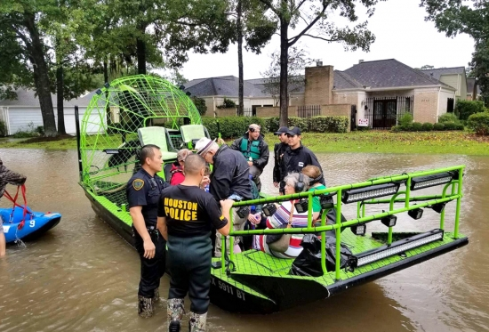 Houston steps up during Harvey