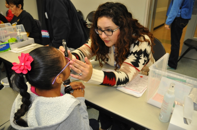 The city's See to Succeed program helps thousands of children with uncorrected vision problems get the corrective eyewear they need each year through annual vision clinics.