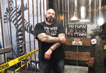Public service is more than skin deep at Prison Break Tattoos