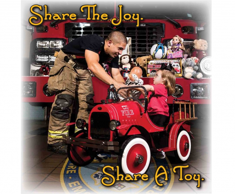 Donate toys to HFD's Operation Stocking Stuffer