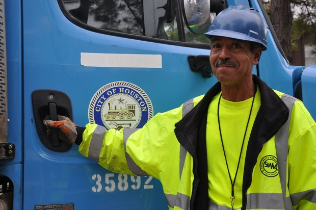 "Lester ""Tweety"" Taylor has been driving a truck for most of his life, but he has been collecting city garbage for only two years."
