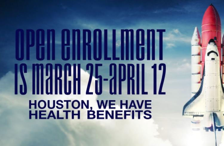 Open Enrollment is March 25 - April 12