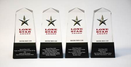 HR Communications earns four Houston Press Club Awards